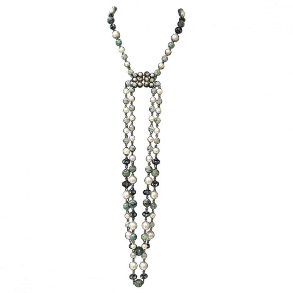 Dior - Collier   pour femme en perles - multicolore