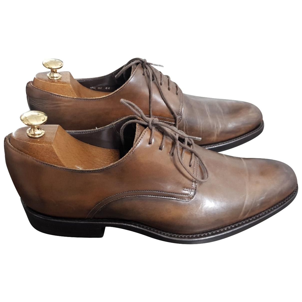 Dior Homme - Derbies   pour homme en cuir - marron