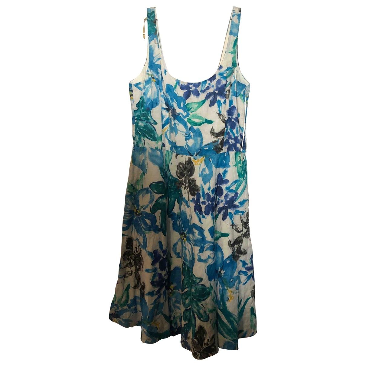 Lauren Ralph Lauren \N Multicolour Linen dress for Women M International