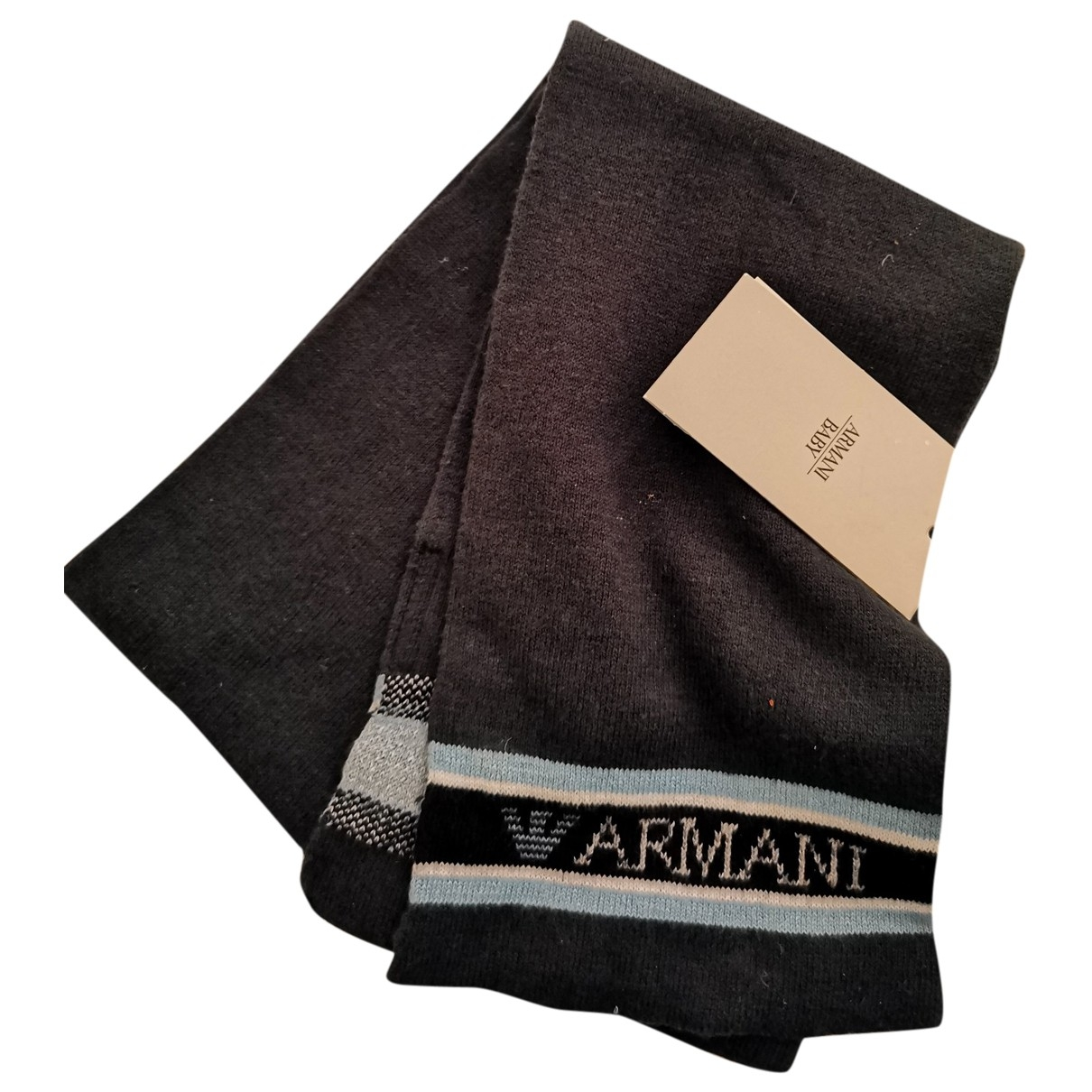 Armani Baby \N Green Wool scarf for Kids \N