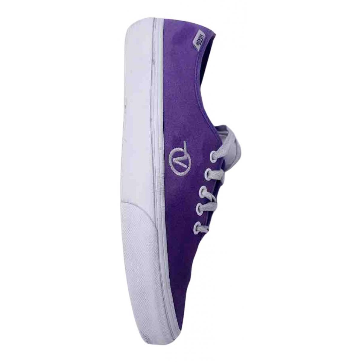 Vans - Mocassins   pour homme en suede - violet