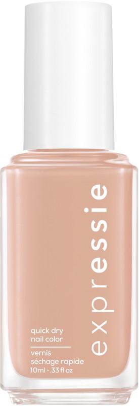 Expressie Quick-Dry Nail Polish - Buns Up (light beige)