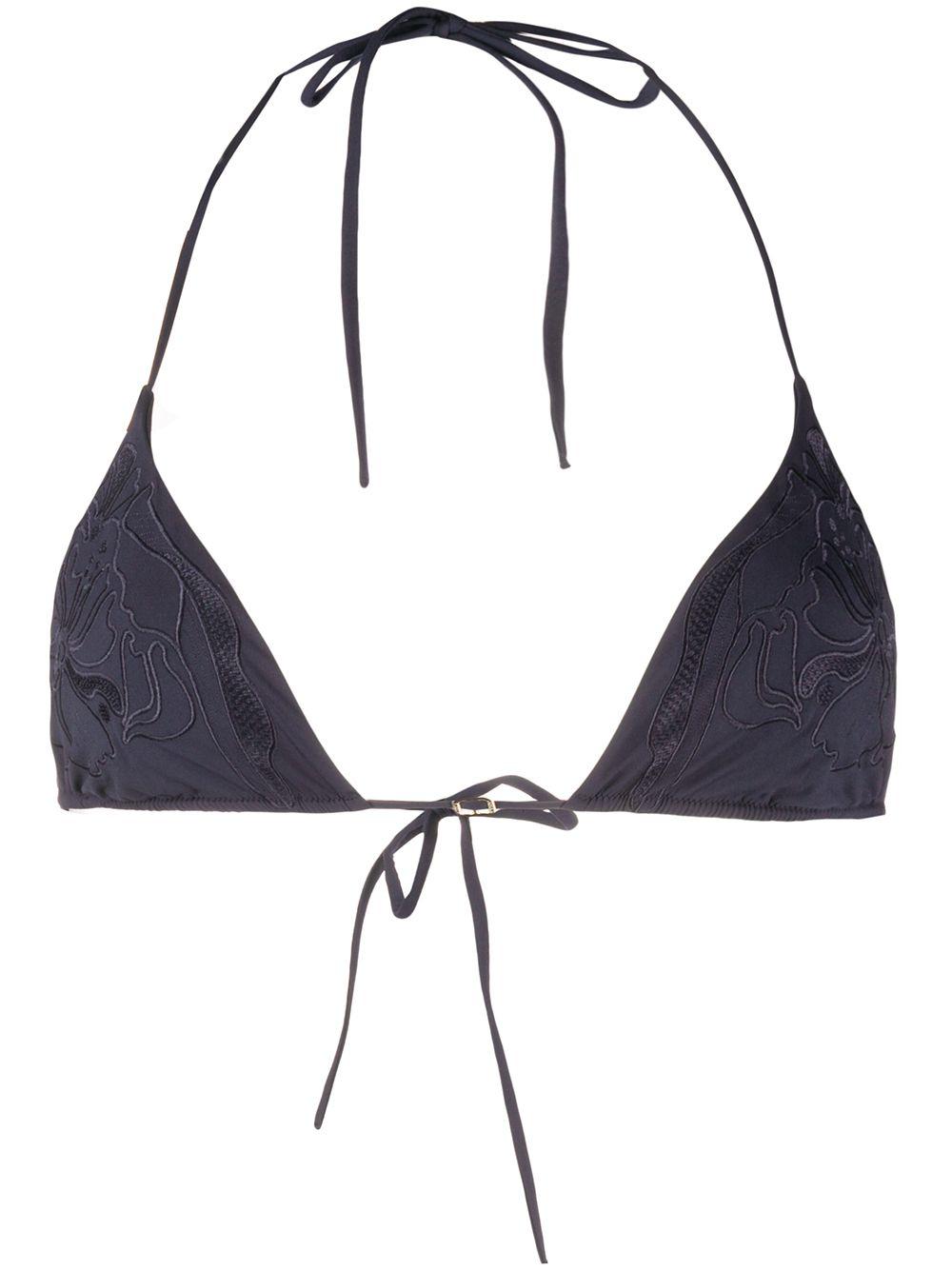 Anemone Triangle Bikini Top