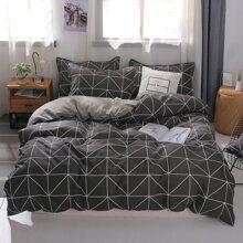 Set de cama con dibujo sin relleno