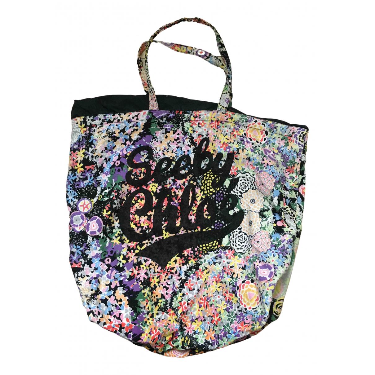 See By Chloé N Pink Cotton handbag for Women N