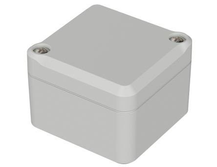 Bopla Euromas II, Light Grey Polycarbonate Enclosure, IP65, Flanged, 52 x 50 x 37mm