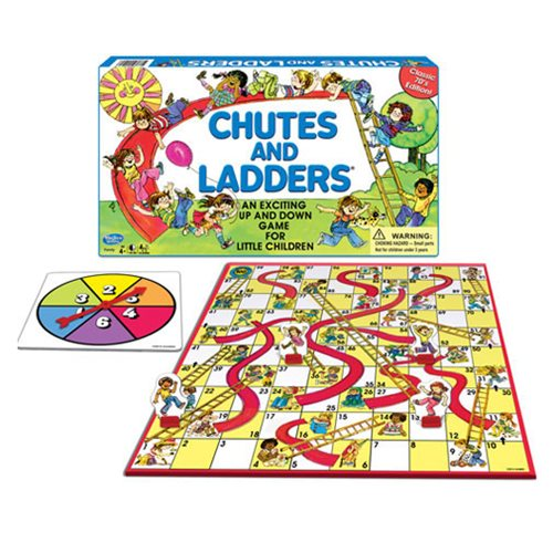 Classic Chutes and Ladders Game