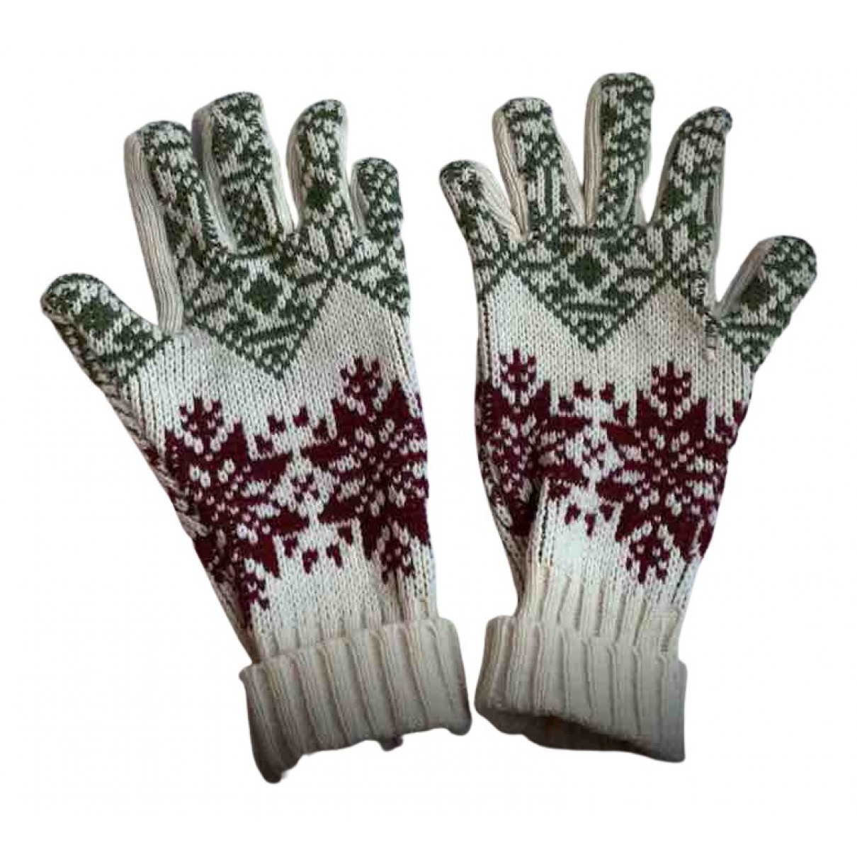 Jean Paul Gaultier \N Handschuhe in  Beige Wolle