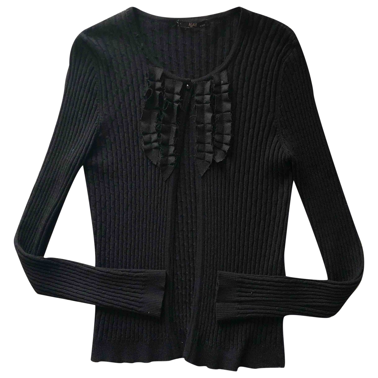 Liu.jo \N Black Wool Knitwear for Women 46 IT