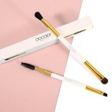 2pcs Double Ended Makeup Brush Set