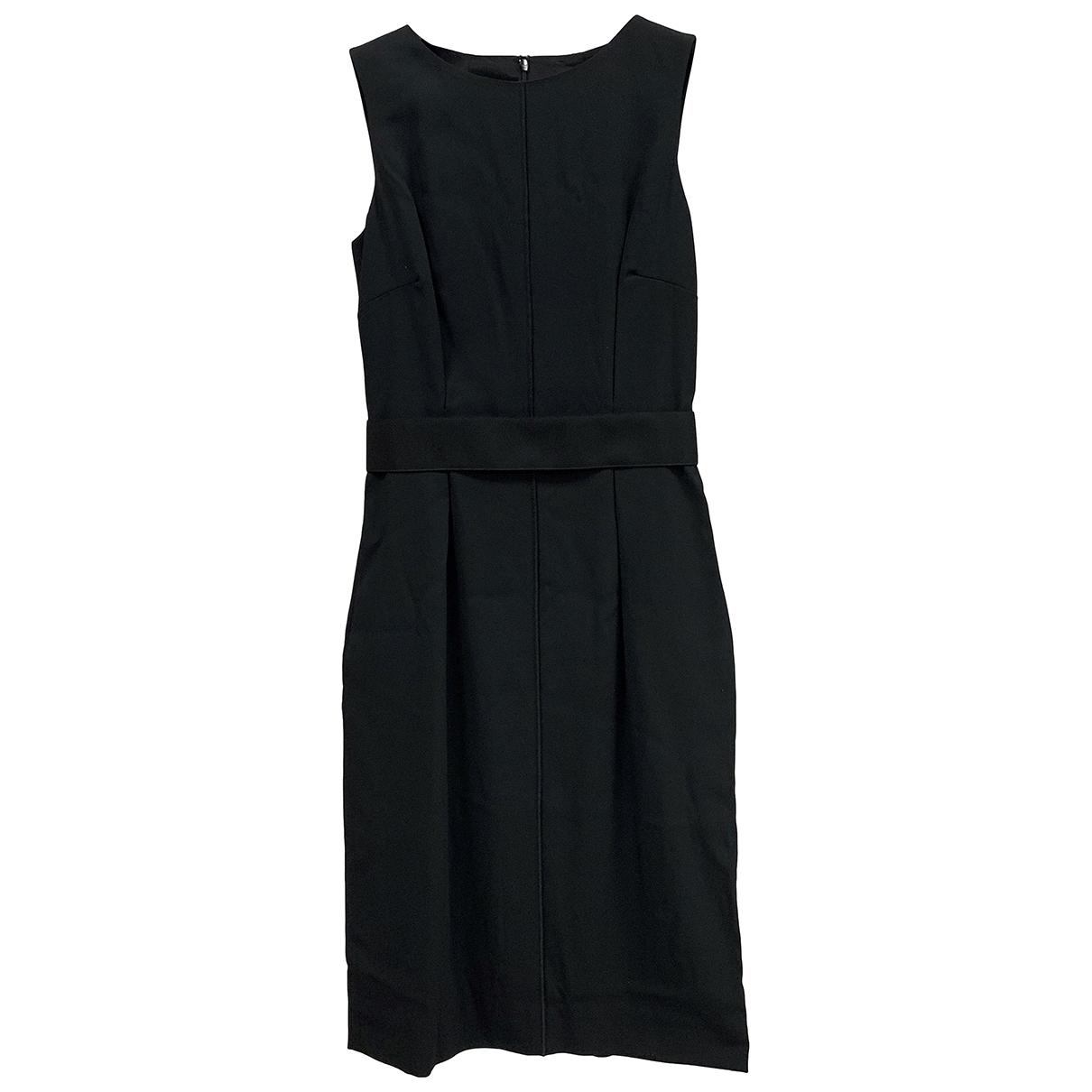 Dolce & Gabbana \N Kleid in  Schwarz Viskose