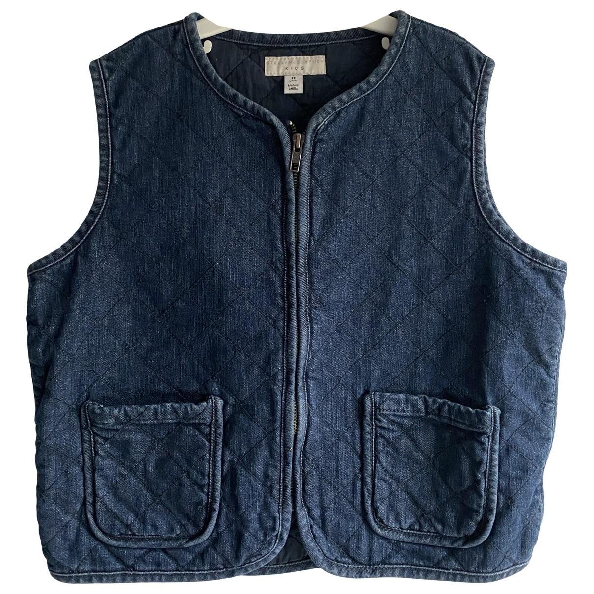 Stella Mccartney \N Navy Cotton jacket & coat for Kids 12 years - XS UK
