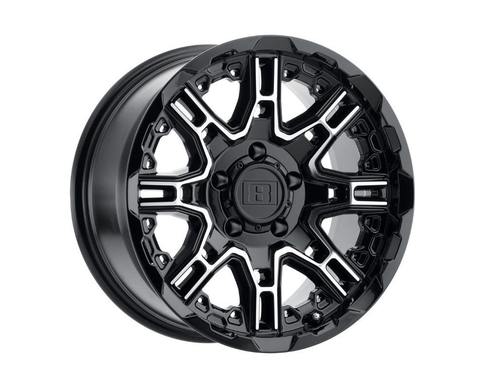 Level 8 Slingshot Wheel 18x9 8x170 0mm Matte Black
