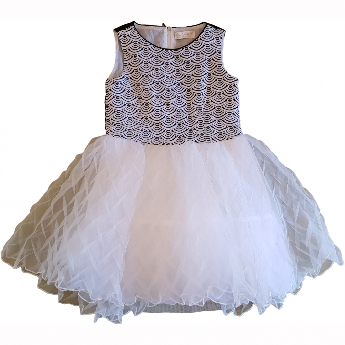 Quis Quis \N White Cotton dress for Kids 8 years - up to 128cm FR