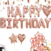 Globo de feliz cumpleaños 24 piezas