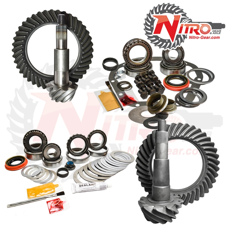 11+ Ford F250/350 4.30 Ratio Gear Package Kit Nitro Gear and Axle