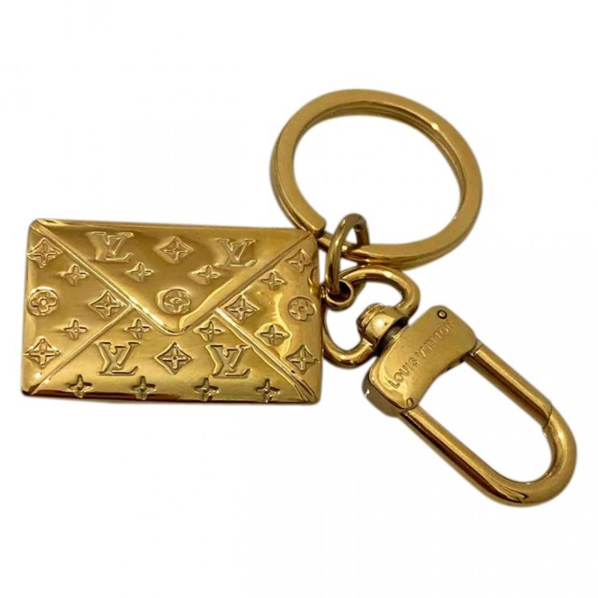 Louis Vuitton \N Gold Metal Bag charms for Women \N