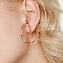 1 Paar Metall Ohrringe