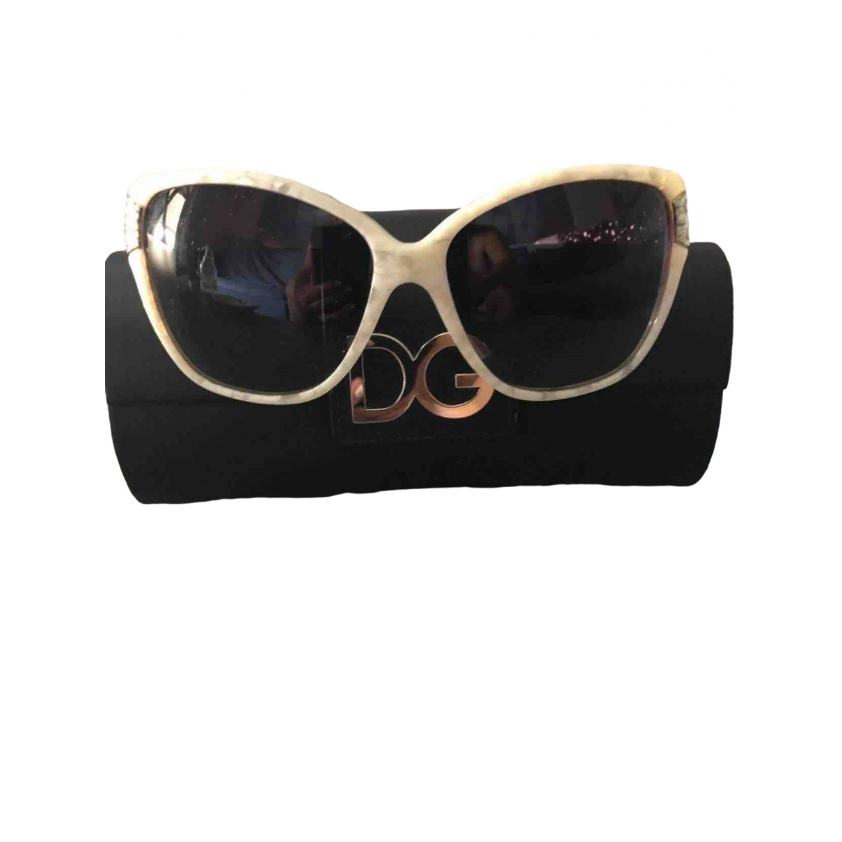 Dolce & Gabbana - Lunettes   pour femme - ecru