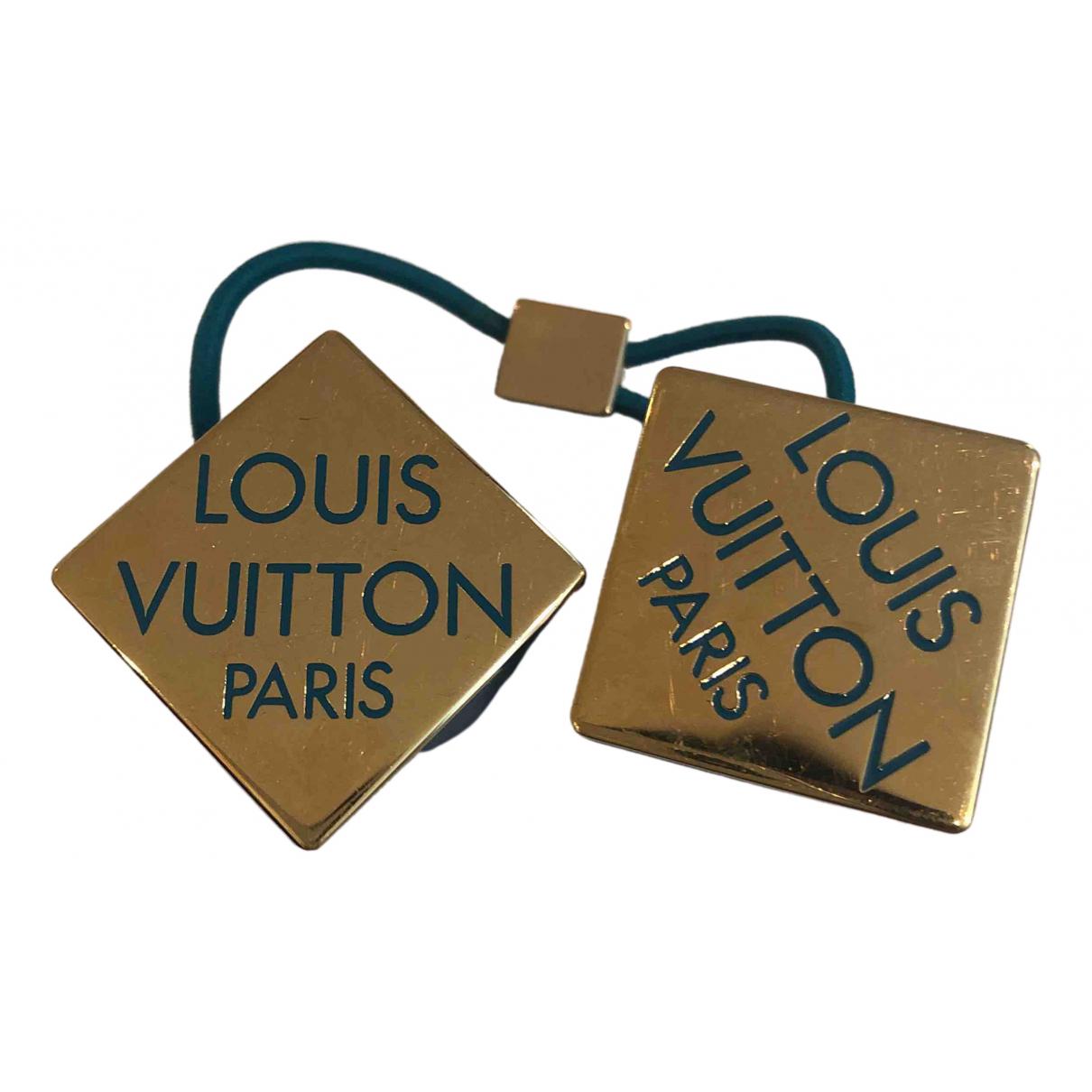 Louis Vuitton \N Haarschmuck in  Blau Kunststoff