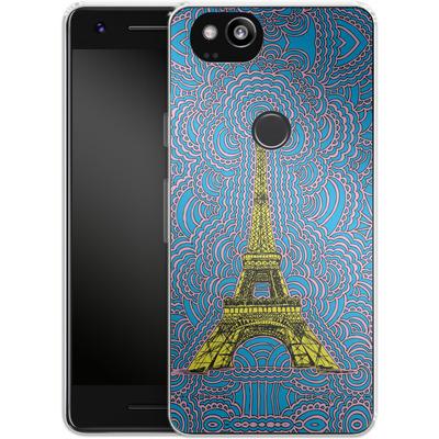 Google Pixel 2 Silikon Handyhuelle - Eiffel Tower von Kaitlyn Parker