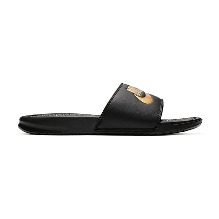 Nike Benassi JDI Mens Slide Sandals, 13 Medium, Black