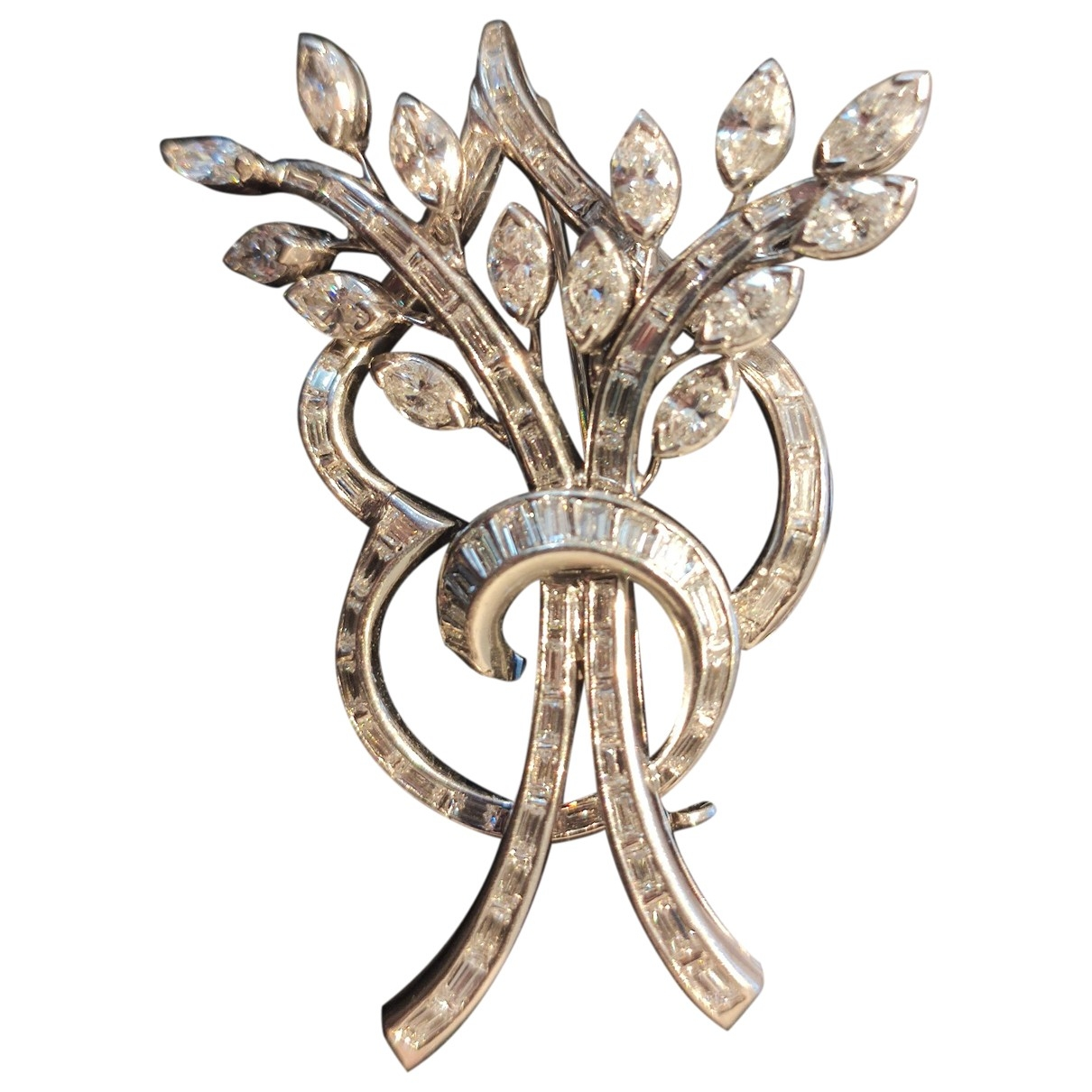 Tiffany & Co \N Silver White gold Pins & brooches for Women \N