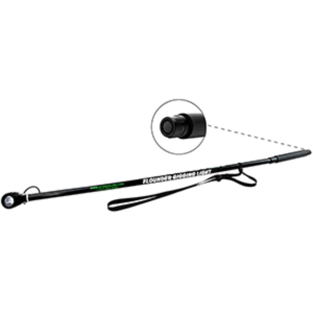 4.5' Matte Black WM10 10-Watt 4AA LED Handheld Gigging Light (Black)
