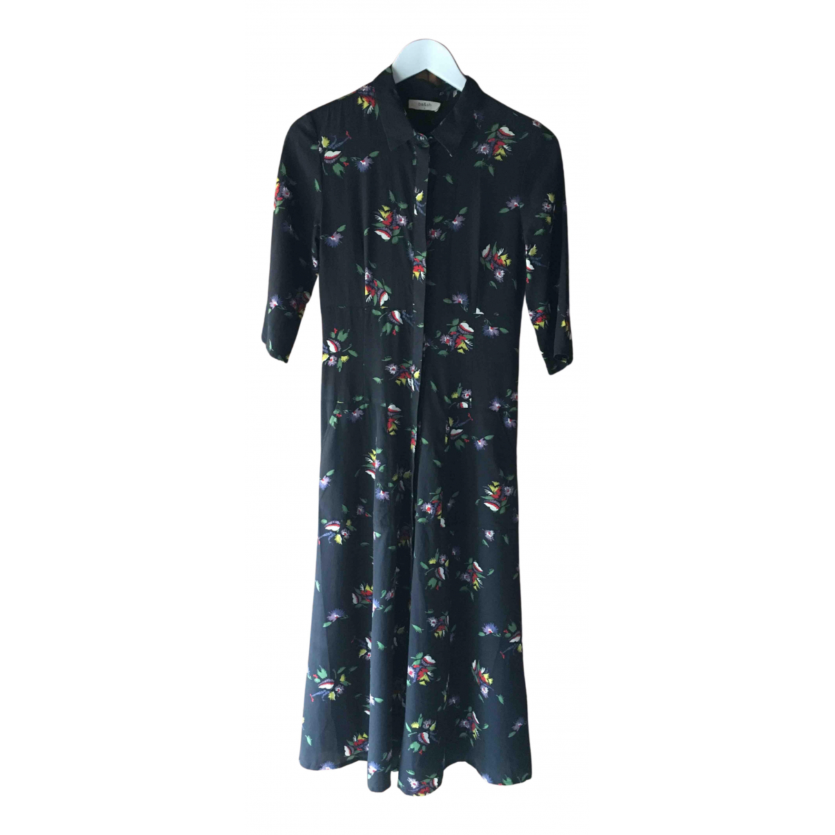 Maxi vestido de Seda Ba&sh