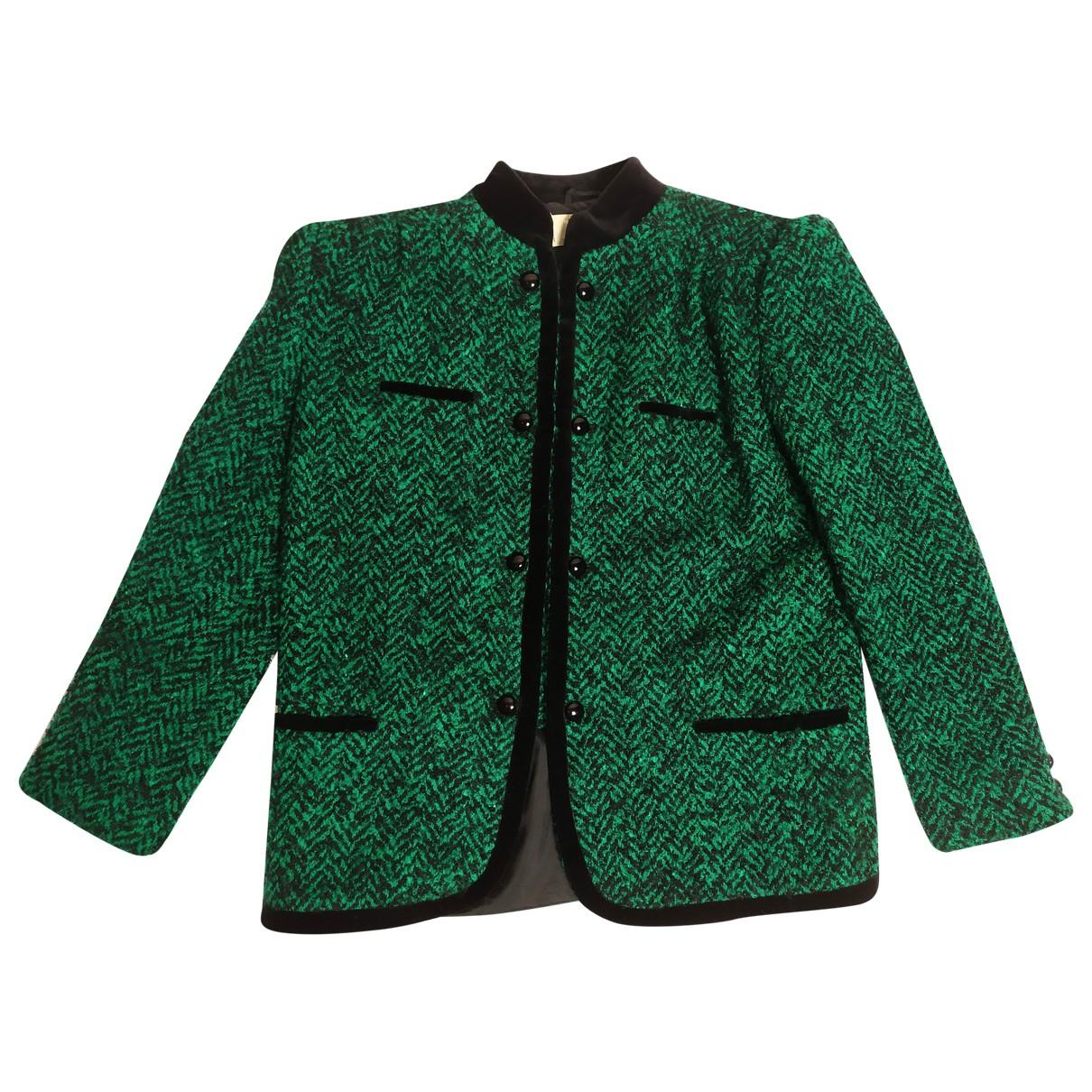 Valentino Garavani - Veste   pour femme en laine - vert