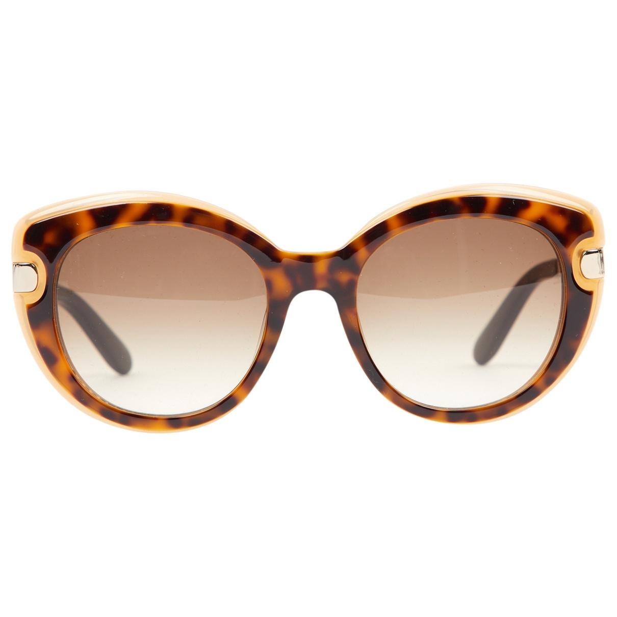 Salvatore Ferragamo \N Camel Sunglasses for Women \N