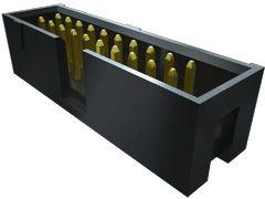 Samtec , Flex Stack TST, 14 Way, 2 Row, Vertical PCB Header (10)