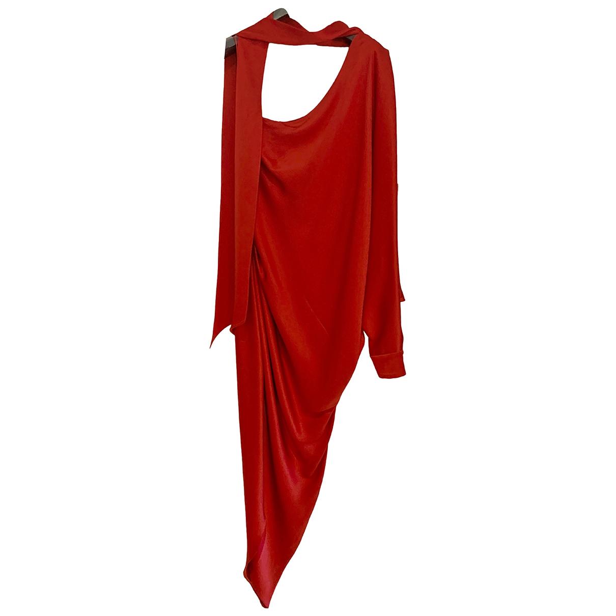 Maxi vestido de Seda Ralph & Russo