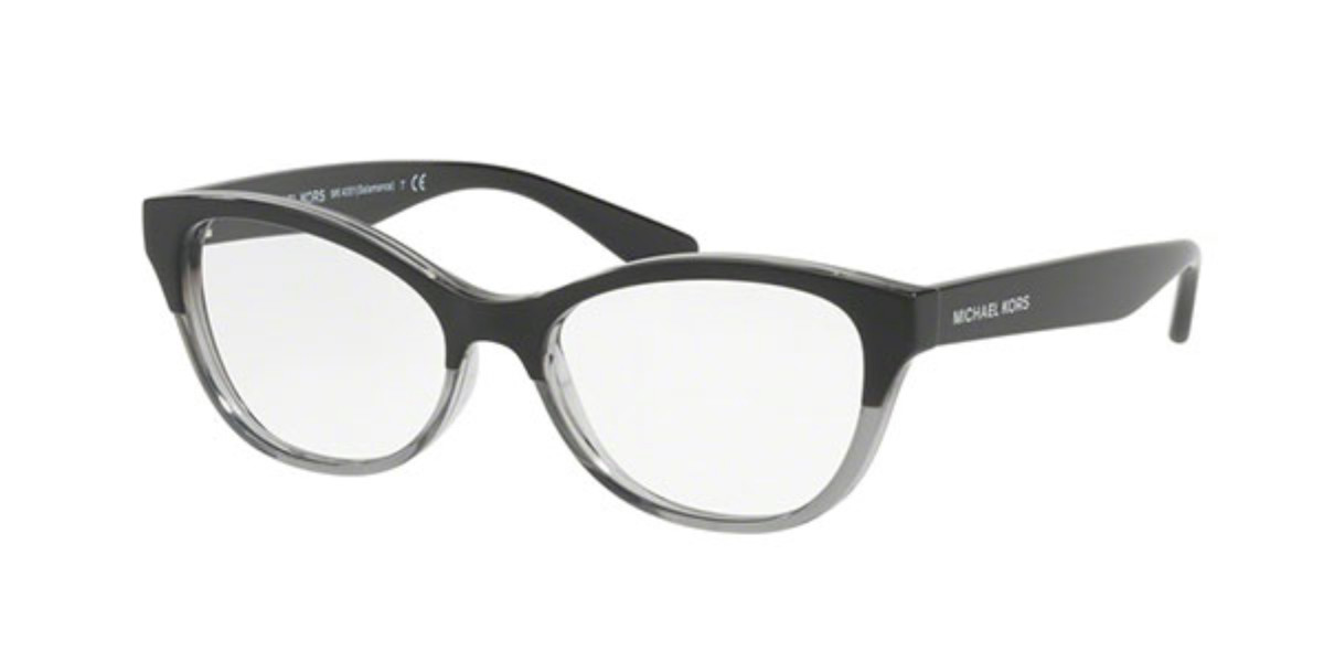 Michael Kors MK4051 SALAMANCA 3280 Women's Glasses Clear Size 50 - Free Lenses - HSA/FSA Insurance - Blue Light Block Available