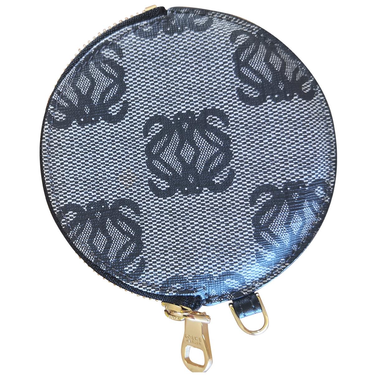 Loewe - Portefeuille   pour femme en toile