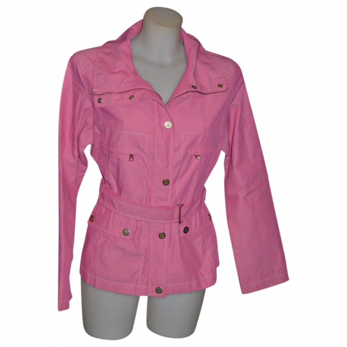 Max Mara \N Pink coat for Women 40 IT