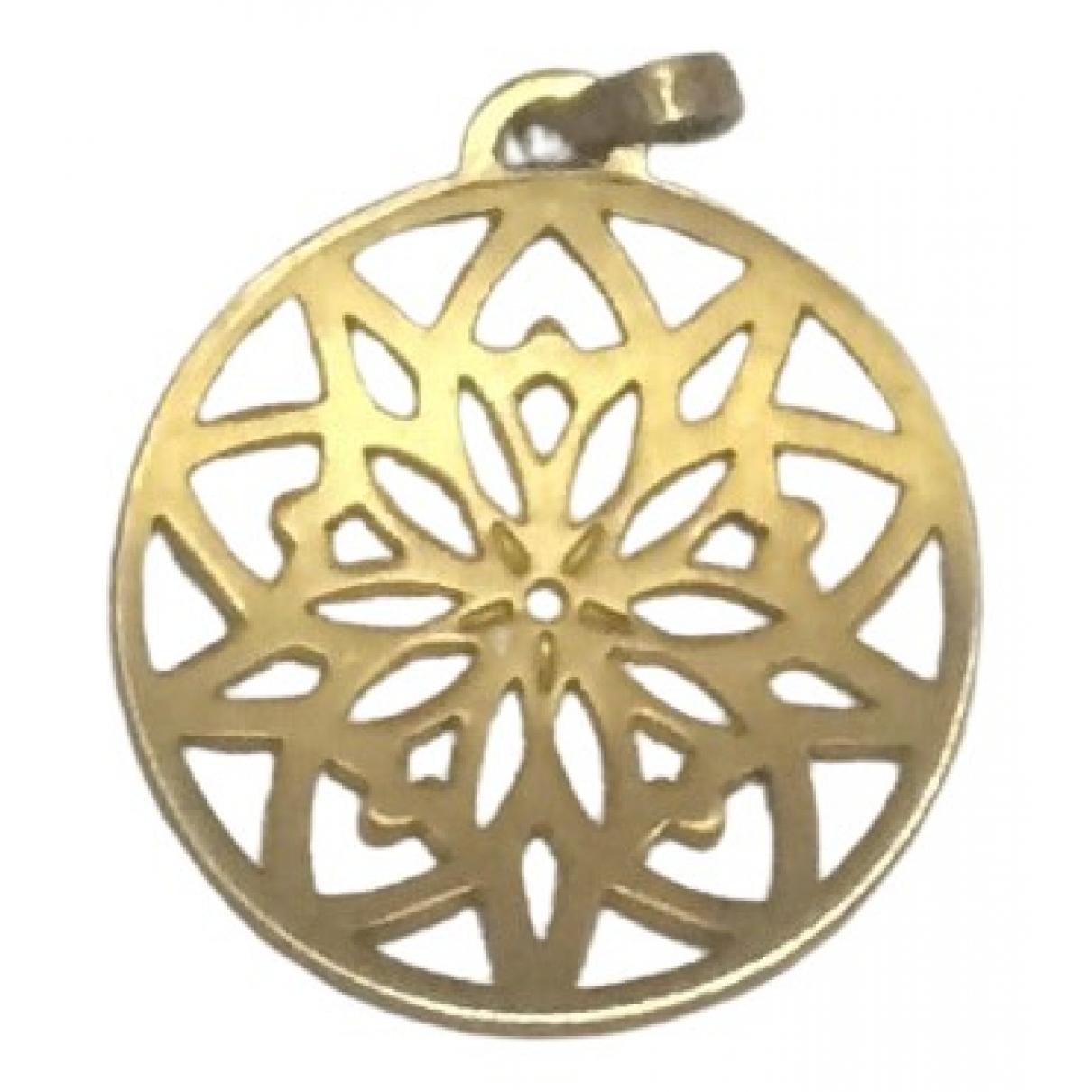 Zolotas - Pendentif   pour femme en plaque or - dore