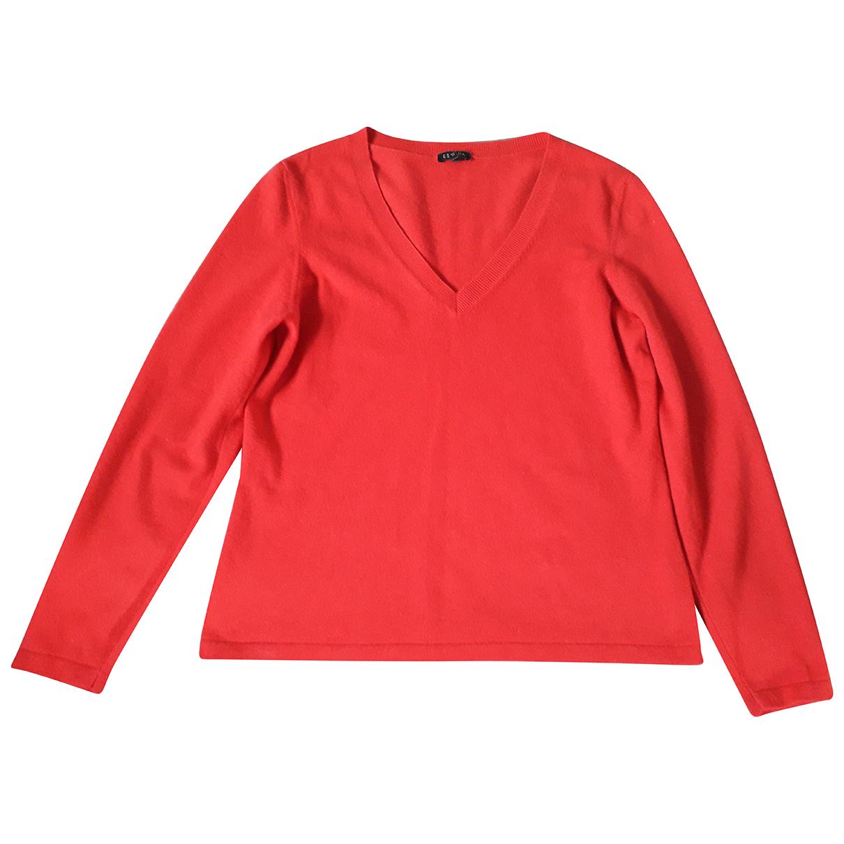 Escada N Red Cashmere Knitwear for Women XL International
