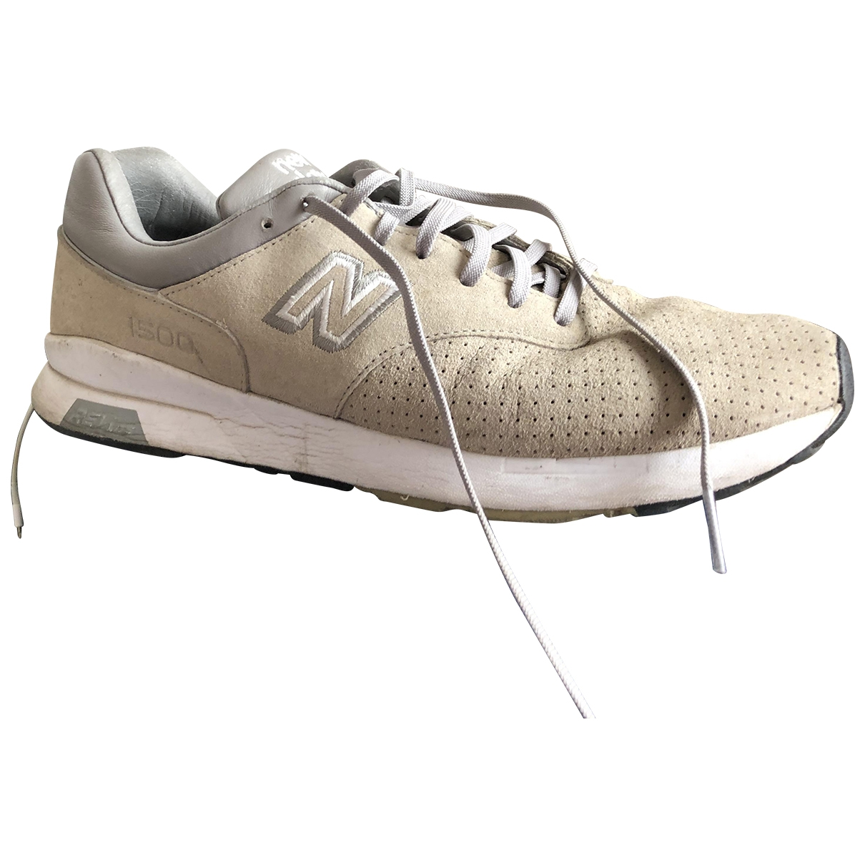 New Balance \N Sneakers in  Grau Veloursleder