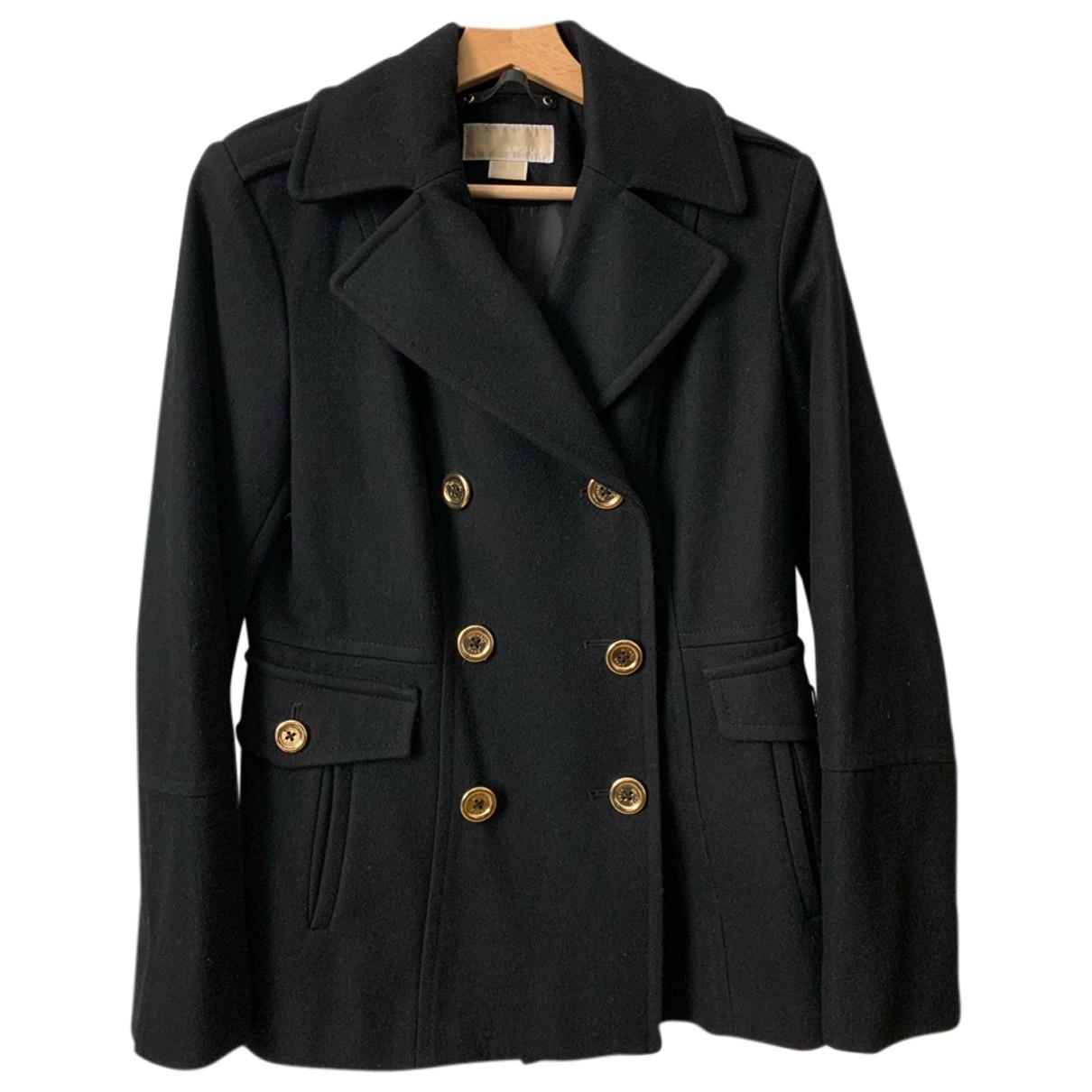 Michael Kors - Manteau   pour femme en laine - noir