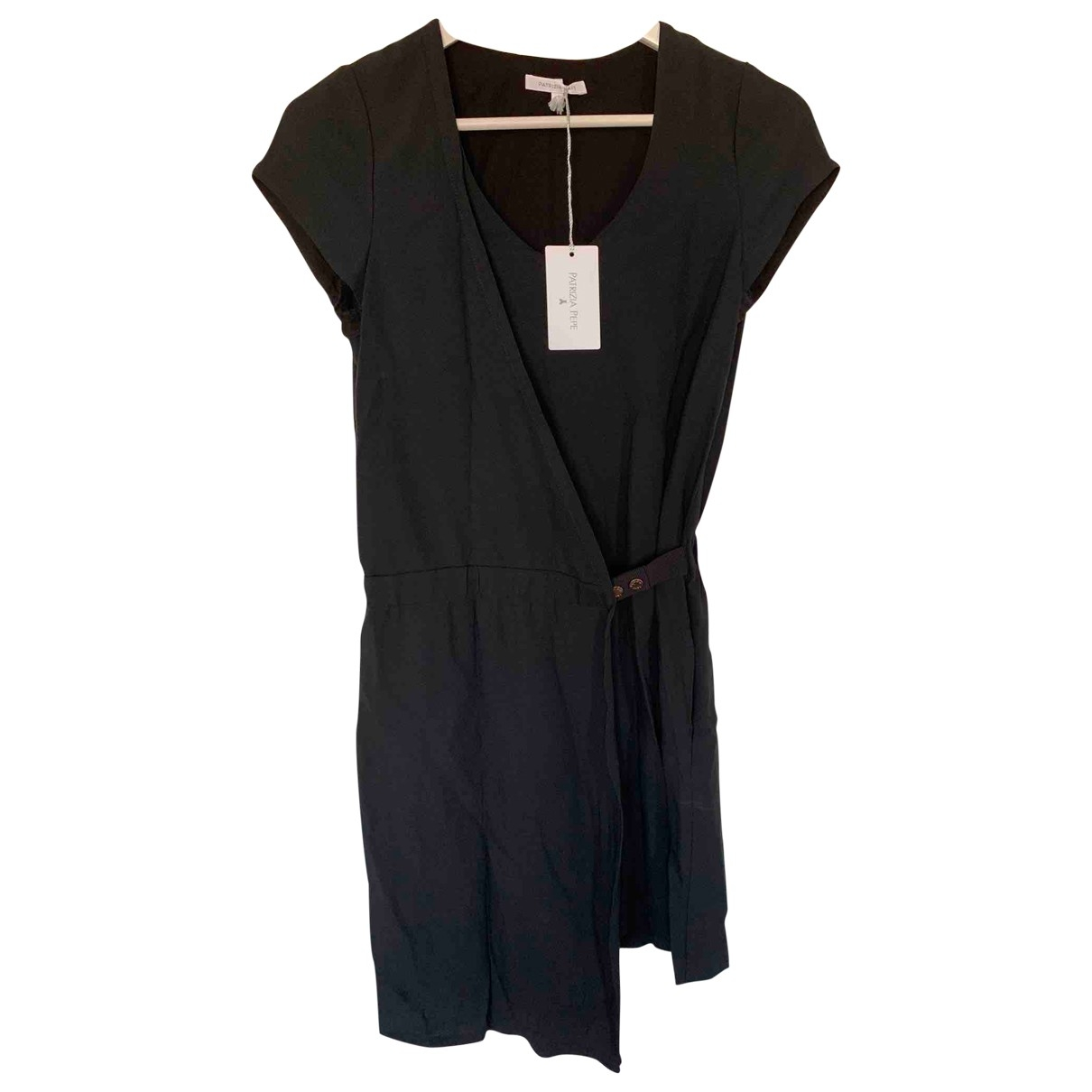 Patrizia Pepe \N Black Silk dress for Women XS International