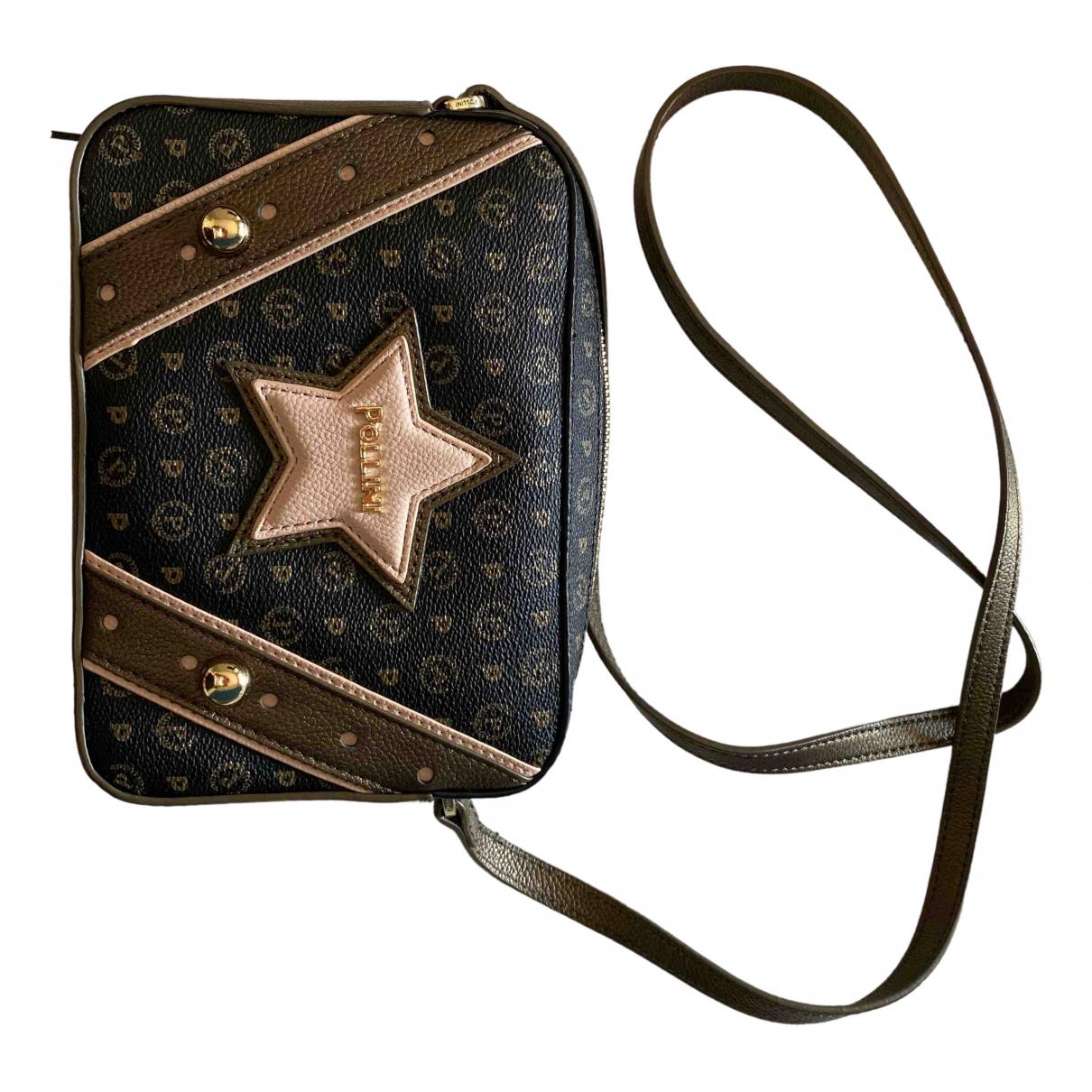 Pollini \N Leather handbag for Women \N