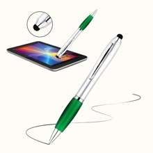 1pc Multifunctional 2 In 1 Ballpoint Pen & Stylus Pen