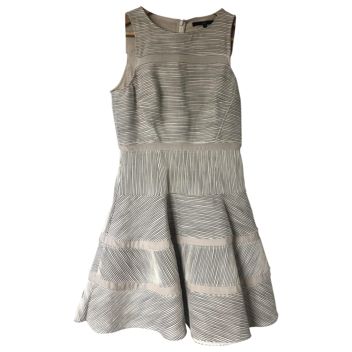 Tibi \N Kleid in  Beige Baumwolle