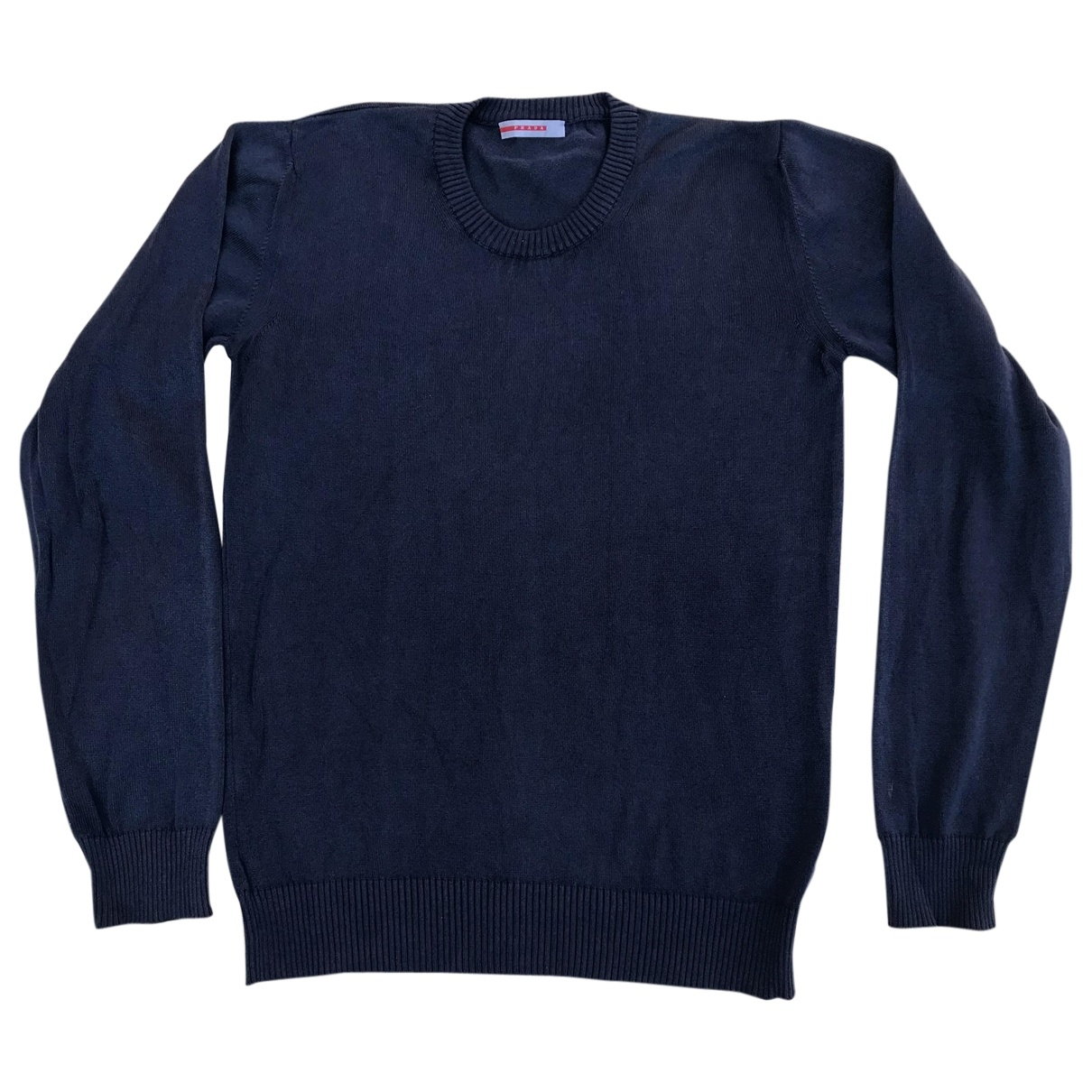 Prada \N Blue Cotton Knitwear & Sweatshirts for Men S International