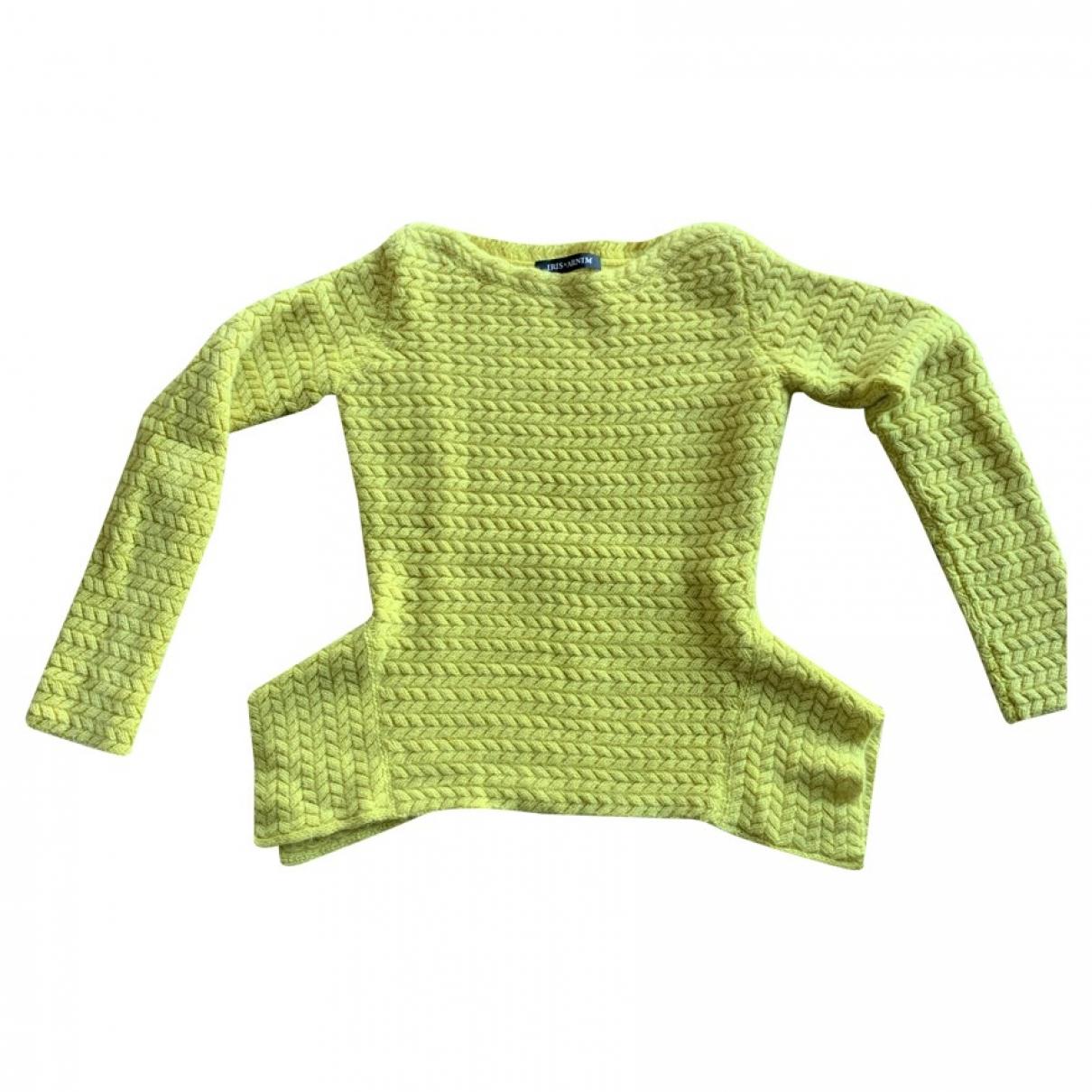 Iris Von Arnim - Pull   pour femme en cachemire - jaune