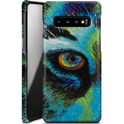 Samsung Galaxy S10 Smartphone Huelle - Will Cormier - Tiger Eyes von TATE and CO