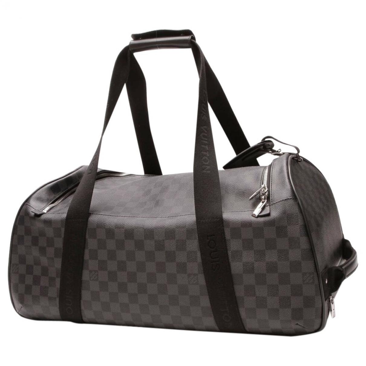 Louis Vuitton Eole Anthracite Cloth bag for Men \N