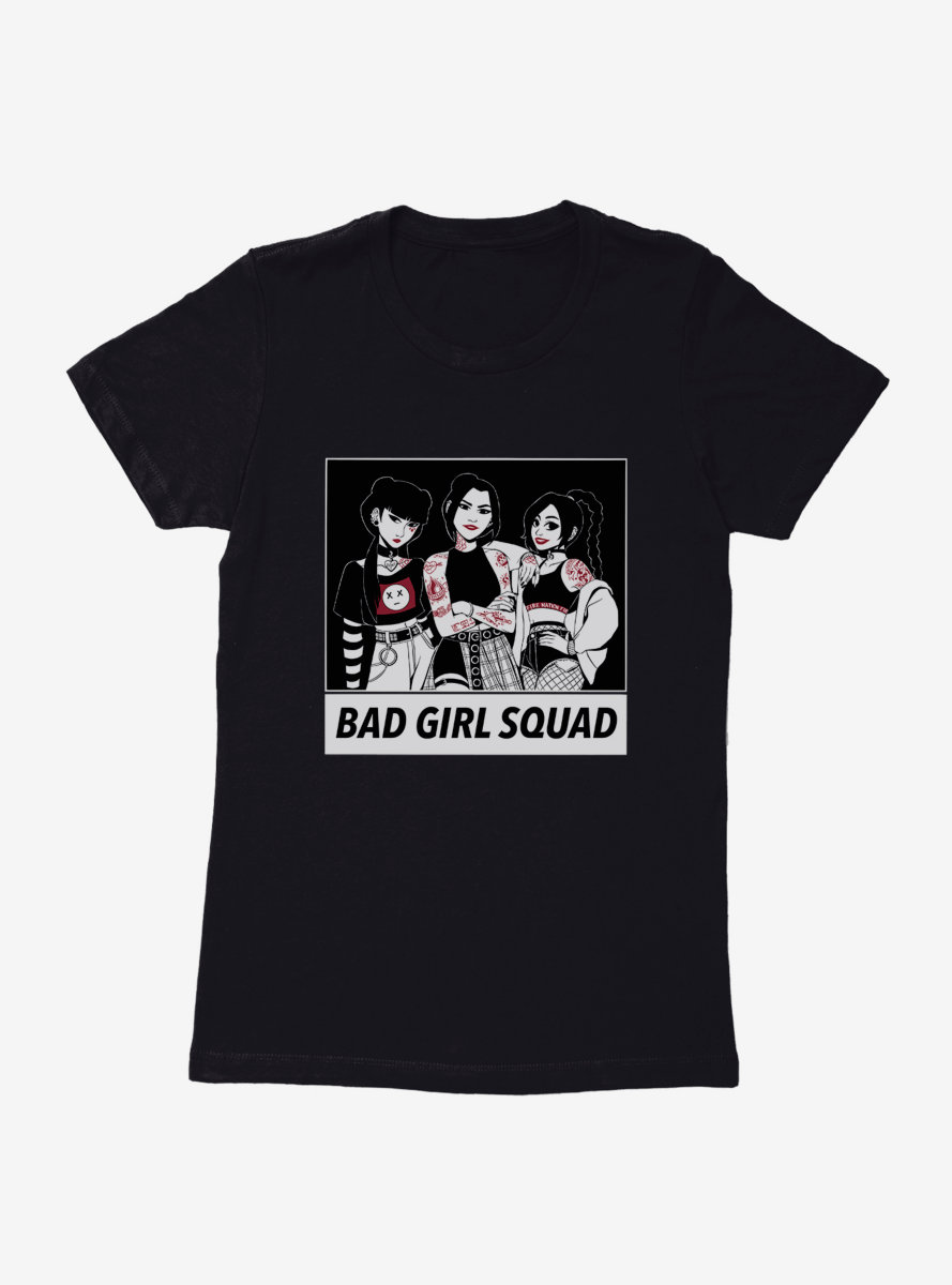 Avatar: The Last Airbender Bad Girl Squad Womens T-Shirt - BoxLunch Exclusive