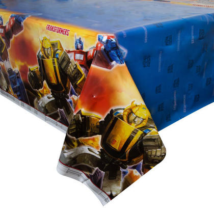 Transformers 1 Plastic Tablecover 54